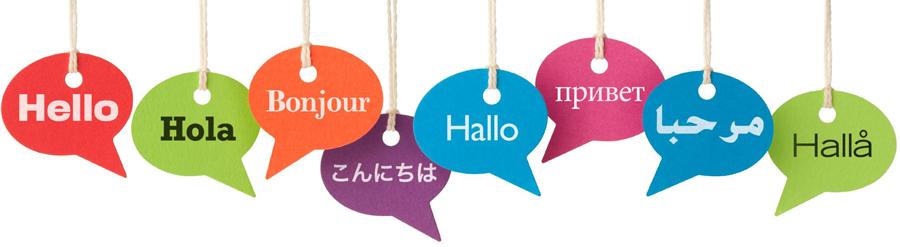 I nostri servizi di traduzione ed interpretariato