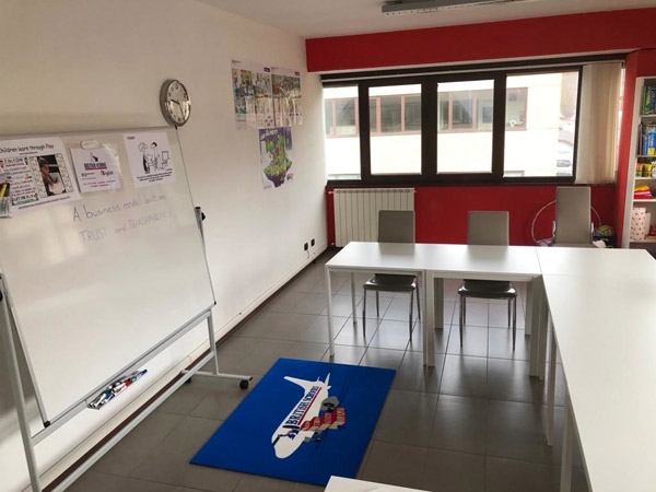 Aula British School di Verbania